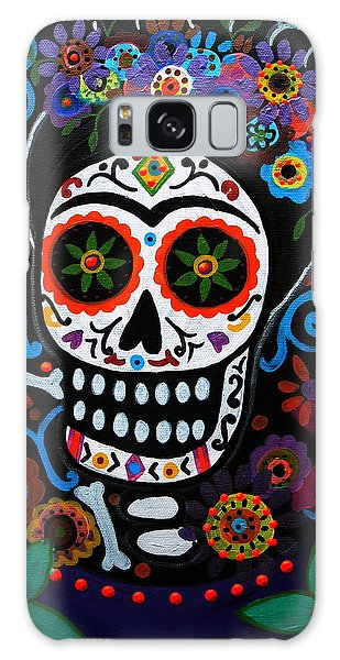 Day Of The Dead Frida Kahlo Painting Galaxy Case