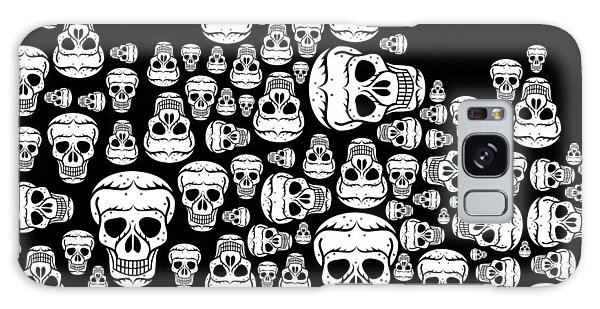 Halloween Galaxy Case - Day Of The Dead by Mark Ashkenazi