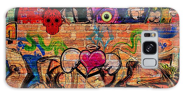 Day Of The Dead Street Graffiti Galaxy Case