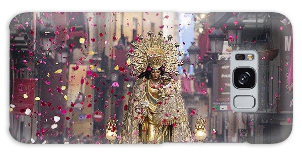 Day Of The Virgen De Los Desamparados Galaxy Case