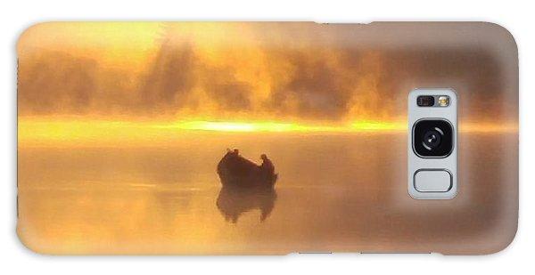 Daybreak Fishermen Galaxy Case