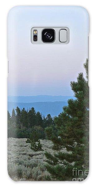 Daybreak On The Mountain Galaxy Case