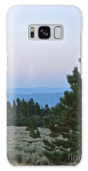 Daybreak On The Mountain Galaxy Case