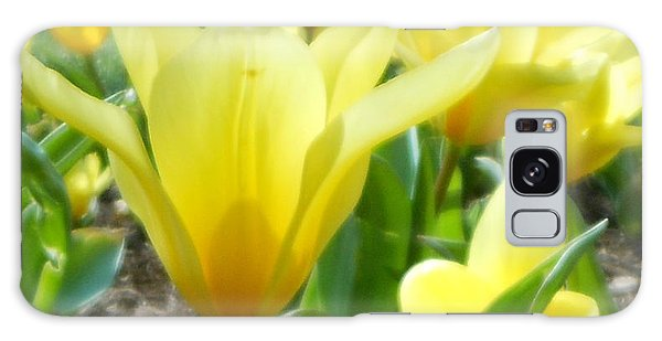 Daydreaming Of Yellow Tulips Galaxy Case