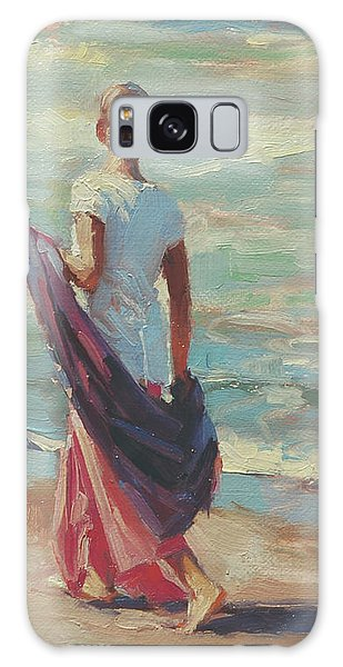 Seashore Galaxy Case - Daydreaming by Steve Henderson
