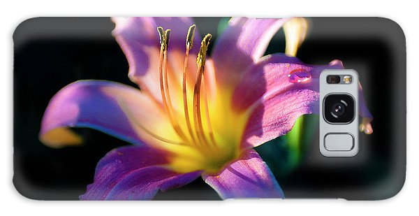 Daylily Glow Galaxy Case by Tamyra Ayles