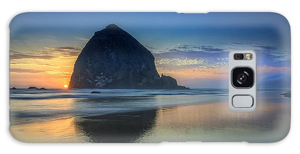 Day's End In Cannon Beach Galaxy Case