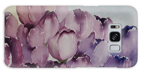 Days Of Wine And Tulips Galaxy Case