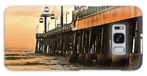 Galaxy Case featuring the photograph Daytona Beach Pier by Carolyn Marshall