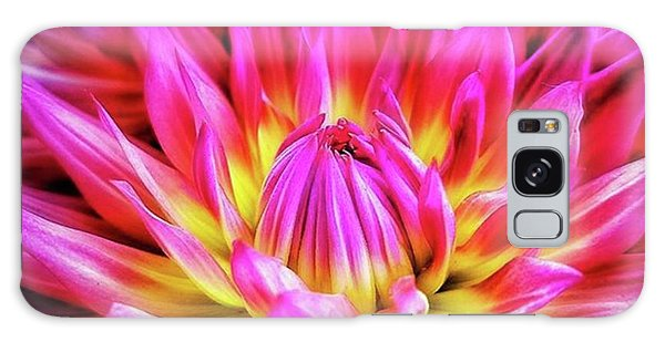 Galaxy Case featuring the photograph Dazzling Dahlia. It Comes In So Many by Mr Photojimsf