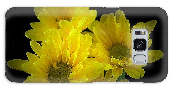Dazzling Yellow Galaxy Case by Ray Shrewsberry