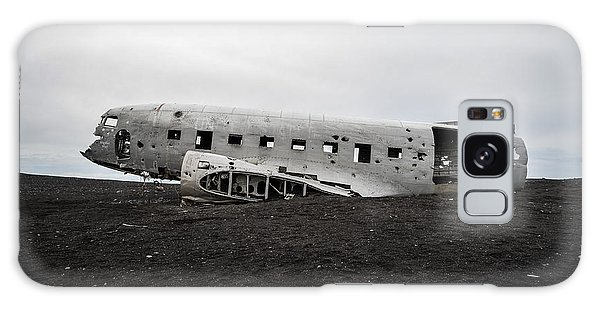 Dc-3 Wreck On The Solheimasandur Galaxy Case