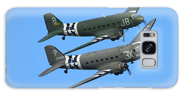 Dc3 Dakota C47 Skytrain Galaxy Case by Ken Brannen