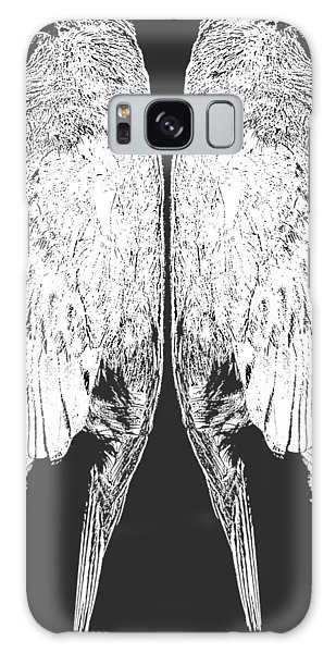 Song Bird Galaxy Case - Dead Birds Tee White by Edward Fielding