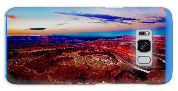 Dead Horse Point Galaxy Case