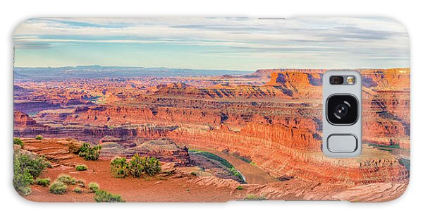 Dead Horse Point Panorama Galaxy Case