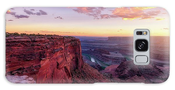 Galaxy Case featuring the photograph Dead Horse Point Sunset by Darren White