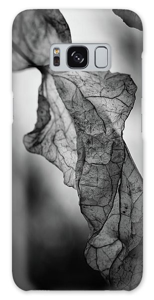 Fragile Leaf Bw Galaxy Case
