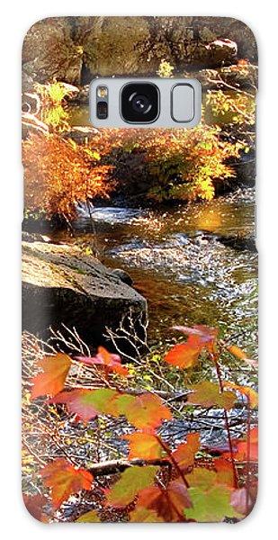 4 Of 6 Dead River Falls  Marquette Michigan Section Galaxy Case