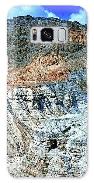 Dead Sea Scroll Caves Galaxy Case