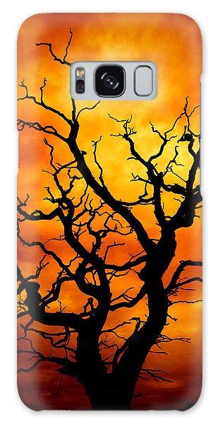 Dead Tree Galaxy Case by Meirion Matthias