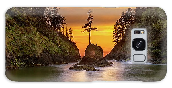 Galaxy Case - Deadman's Cove At Cape Disappointment State Park by David Gn
