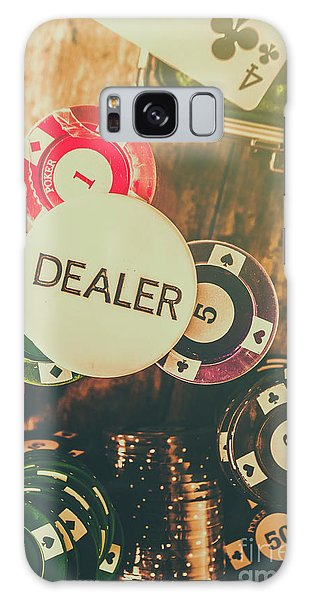 Gamble Galaxy Case - Dealers House Edge by Jorgo Photography - Wall Art Gallery