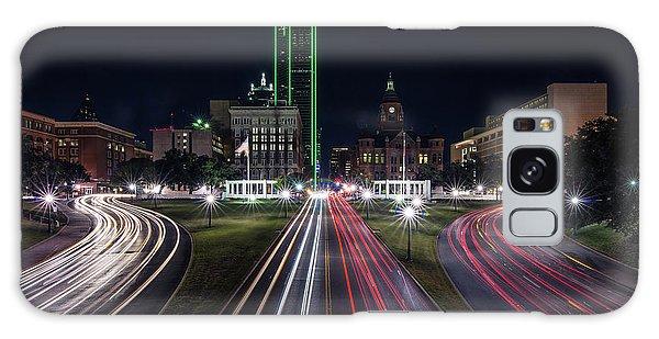 Dealey Plaza Dallas At Night Galaxy Case