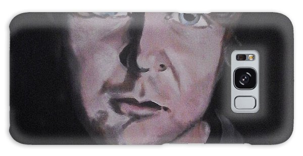 Dean Ambrose Portrait Galaxy Case by Susan Solak