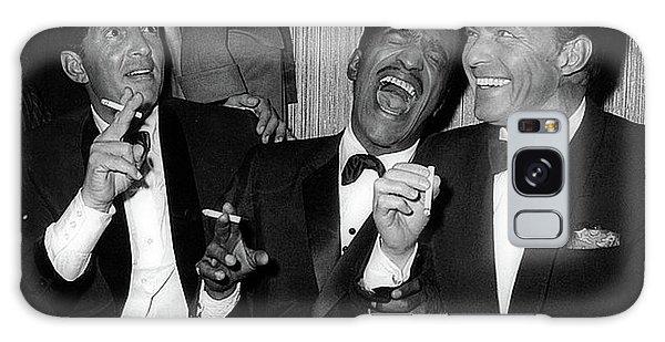 Dean Martin, Sammy Davis Jr. And Frank Sinatra Laughing Galaxy Case