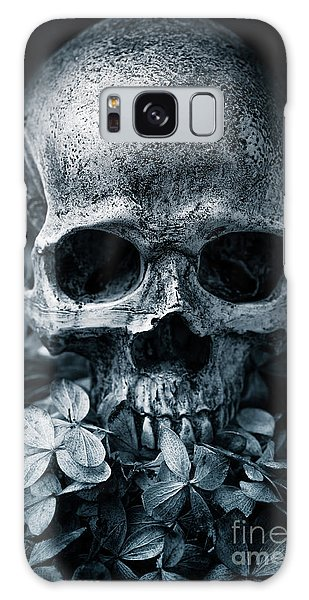 Galaxy Case featuring the photograph Death Comes To Us All by Edward Fielding