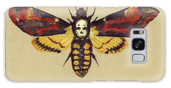 Death Galaxy Case - Death Head Hawk Moth by Juan Bosco
