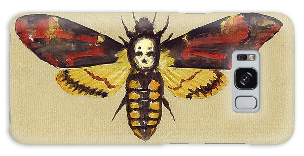 Hawk Galaxy Case - Death Head Hawk Moth by Juan Bosco