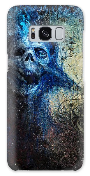 Death Is Staring At Me Galaxy Case