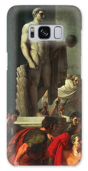 Ides Of March Galaxy Case - Death Of Caesar, March 15, 44 Bc by Vincenzo Camuccini