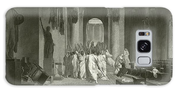 Ides Of March Galaxy Case - Death Of Julius Caesar, 44 Bc  by Jean Leon Gerome