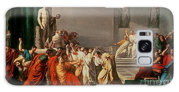 Ides Of March Galaxy Case - Death Of Julius Caesar by Vincenzo Camuccini