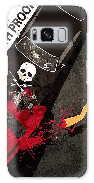 Death Proof Quentin Tarantino Movie Poster Galaxy Case