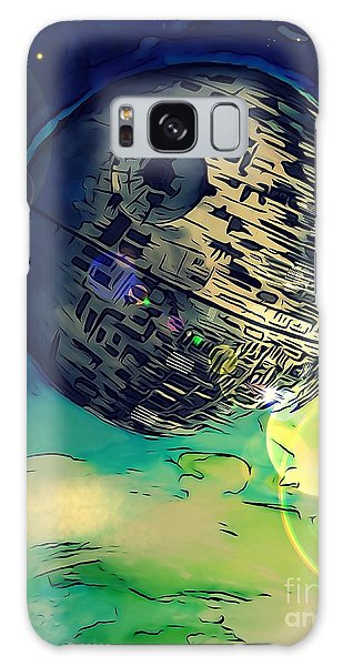 Death Star Illustration  Galaxy Case by Justin Moore