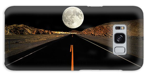 Death Valley Moon Rise Galaxy Case