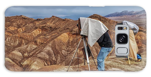 Galaxy Case featuring the photograph Death Valley Photographers by Jim Dollar