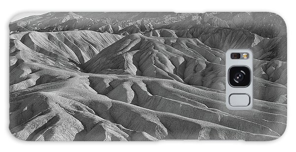 Galaxy Case featuring the photograph Death Valley Rock Formations by Frank DiMarco