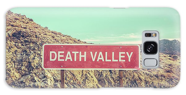 Travel Galaxy Case - Death Valley Sign by Mr Doomits