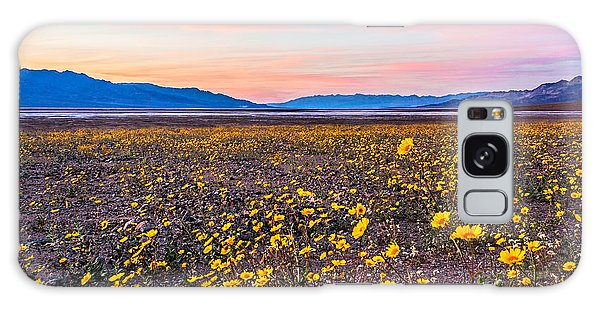 Death Valley Sunset Galaxy Case