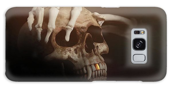 Bone Galaxy Case - Death's Head by Tom Mc Nemar