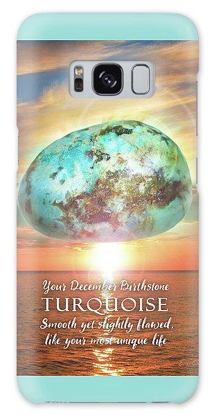 December Birthstone Turquoise Galaxy Case