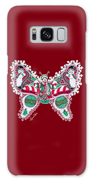 December Butterfly Galaxy Case
