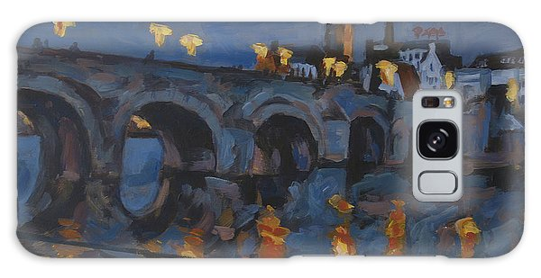 December Lights Old Bridge Maastricht Acryl Galaxy Case