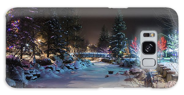 December On The Riverwalk Galaxy Case