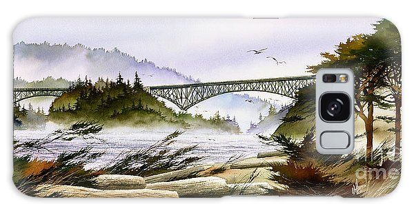 Deception Pass Bridge Galaxy Case